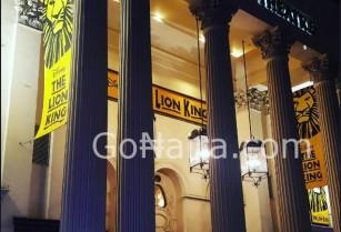 Lion King Theatre Seating Plan