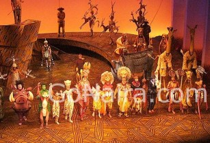 Lion King Musical at Lyceum Theatre