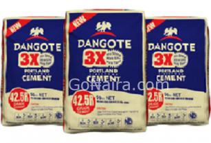 Dangote Cement Promo